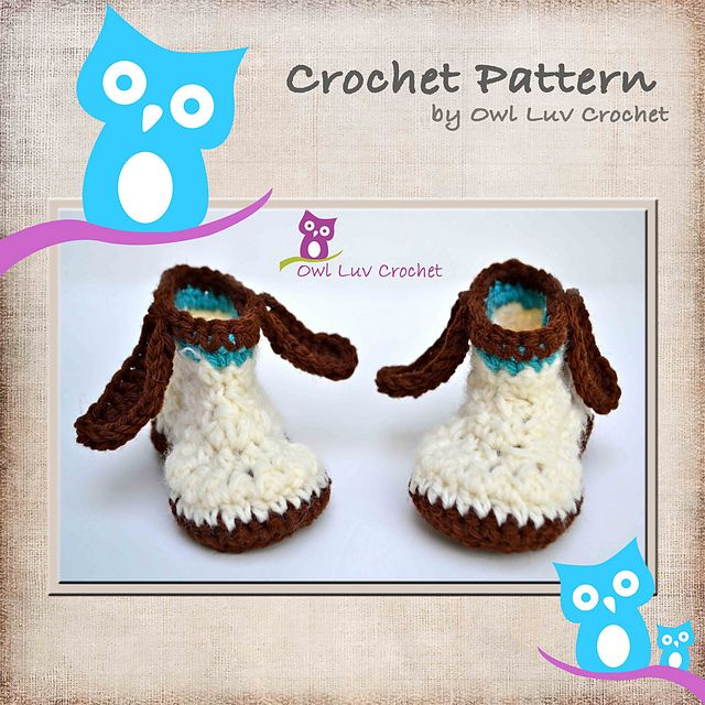 Free Crochet Pattern For Dog Shoes : Puppy Dog Booties pattern by Paula M