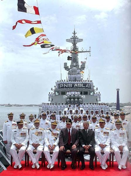 ... Nawaz Sharif and Chief of the Naval Staff Admiral Mohammad Asif