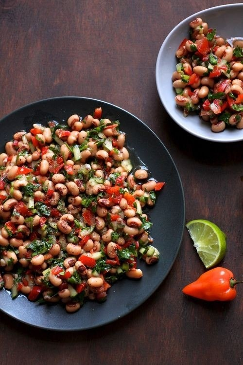 black eyed pea salad | Food & Drinks | Pinterest