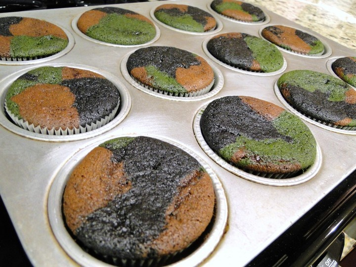 Camo Baked MUST TRY Cake Decorating Ideas Pinterest