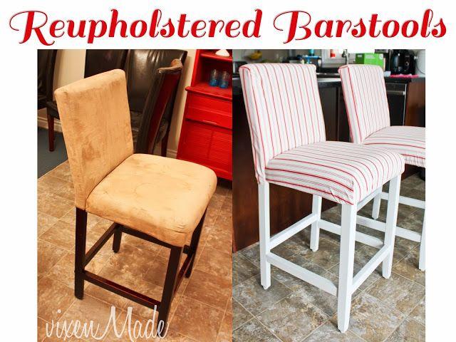 vixenMade Reupholstered Bar Stools My Projects Pinterest : 44234543e47755e439a055878d96a7c2 from pinterest.com size 640 x 480 jpeg 63kB
