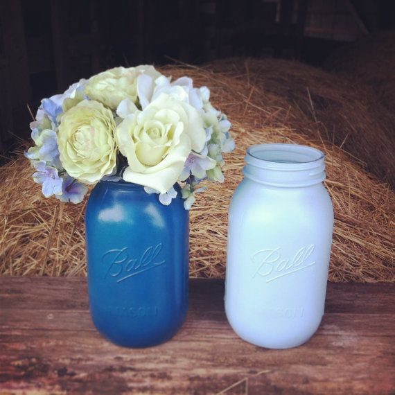 mason jar boy baby shower centerpieces mason jar centerpiece light