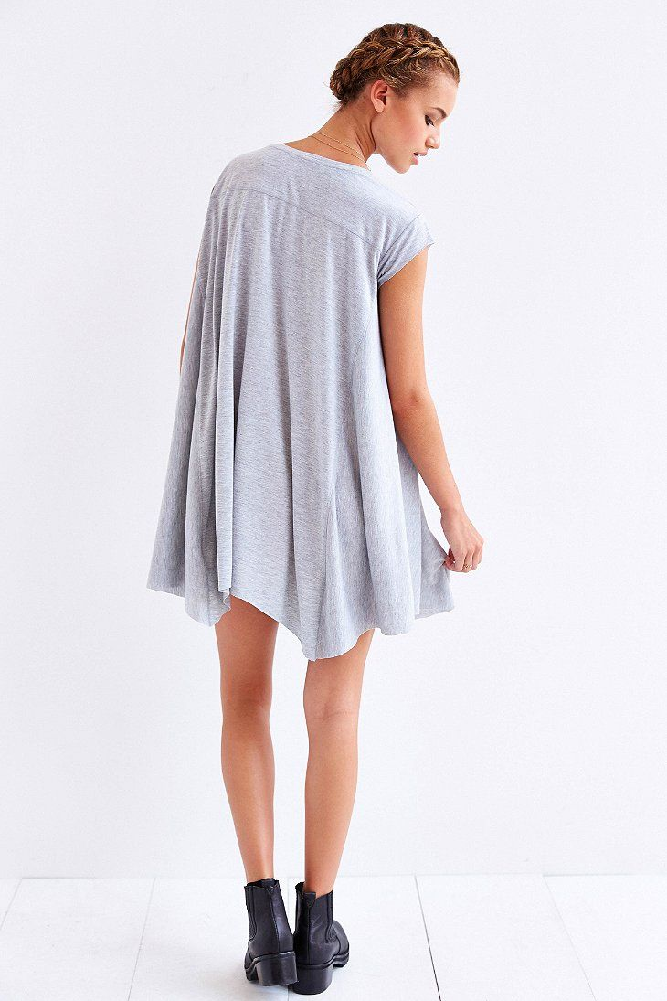 T-Shirt Dresses. T-Shirt Dresses. Styles Found. If it's effortless style you want to go for then our tshirt dresses are exactly what your wardrobe has been looking for. From printed styles to slogan tees, we've got tshirt dresses in basically every style to suit whatever the occasion. Blue Grey Faux Suede Oversized T Shirt Dress more.