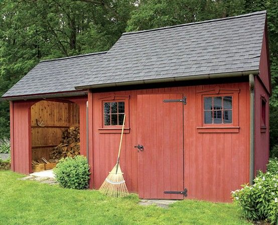 Let 39 s look at this very fashionable colonial style outdoor for Very small garden sheds