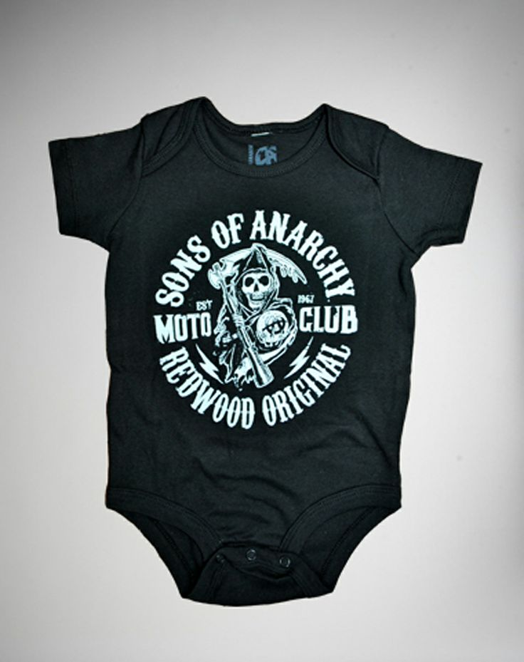 Sons Anarchy Motor Club Baby Snapsuit Ireland