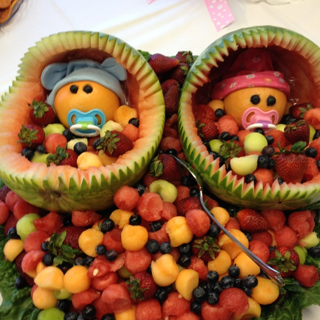 baby shower fruit tray so cute party ideas pinterest