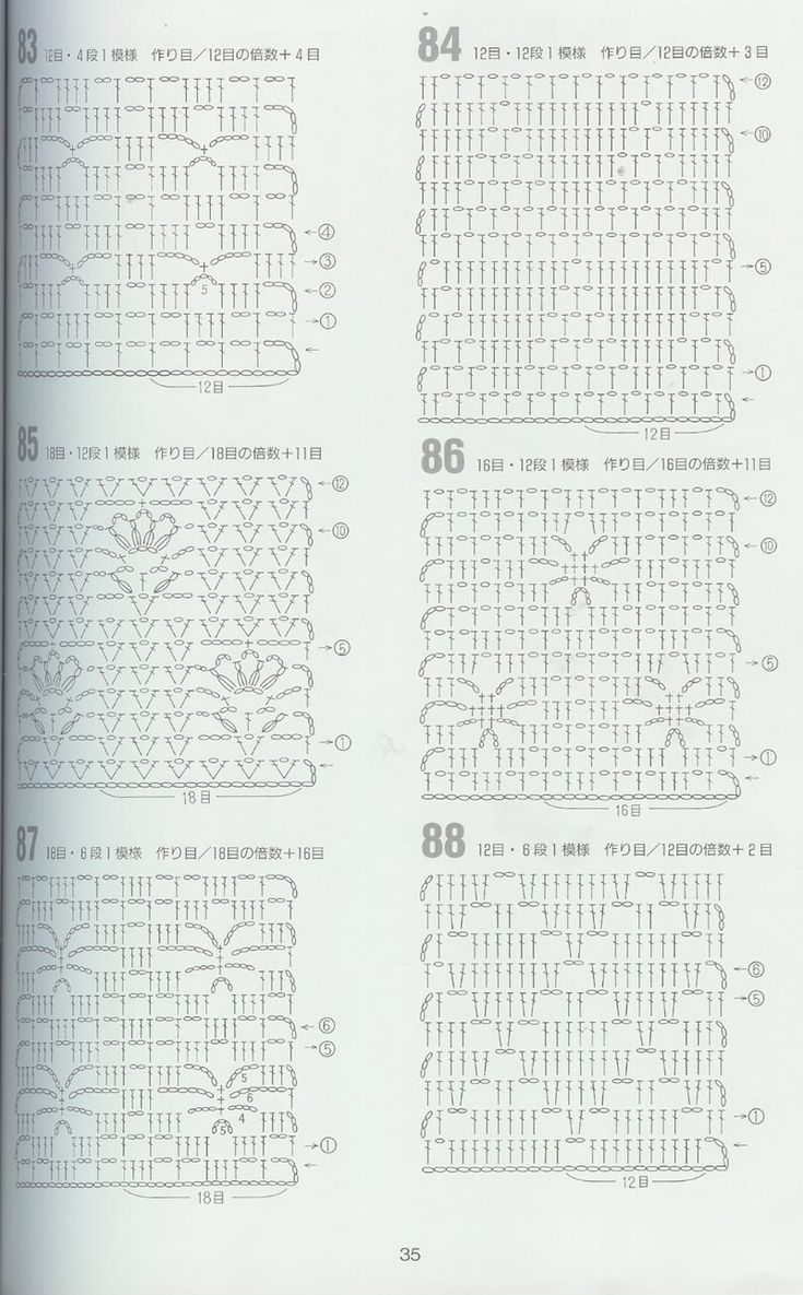 japanese crochet pattern Crochet Pinterest