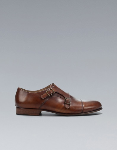 SHOE WITH BUCKLES - Shoes - Shoes - Man - ZARA United Kingdom