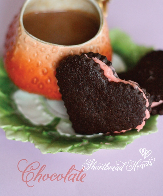 Chocolate Shortbread Hearts GF Adaptation 4 sticks (1 lb.) softened ...