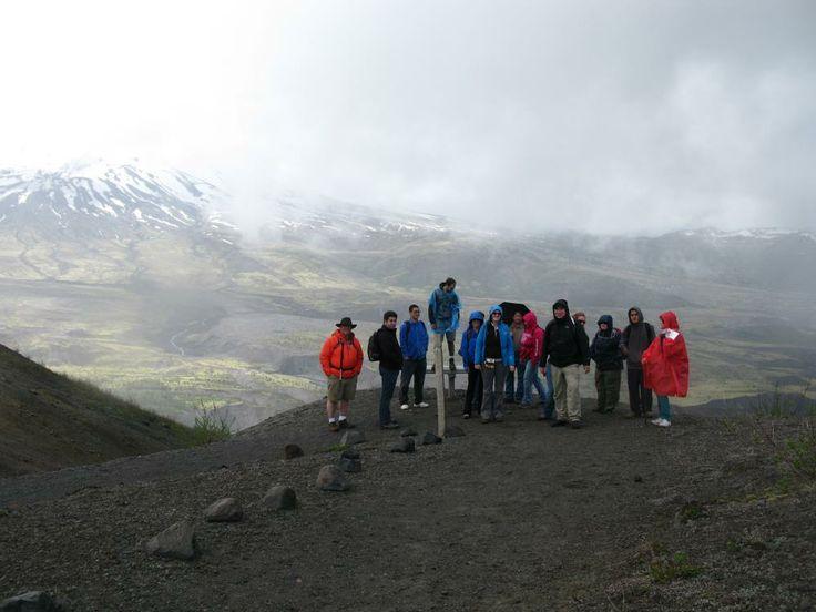 Mt St Helens stein dating