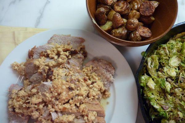 Pork Loin Braised In Milk Recipe — Dishmaps