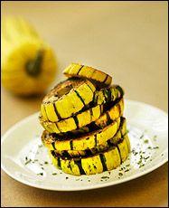 Delicata squash rings | Food/Drink | Pinterest