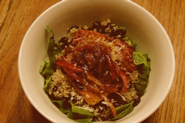 Quinoa with Black Beans and Cilantro | Entrees and Dinner Sides | Pin ...