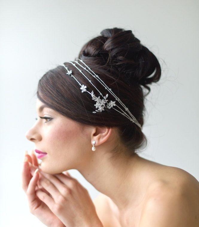 ... Hair Wrap, Wedding Head Piece, Wedding Hair Accessory, Bridal Headband