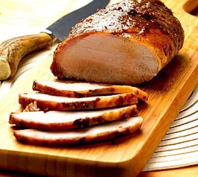 maple baked pork loin roast | Recipes - Pork | Pinterest