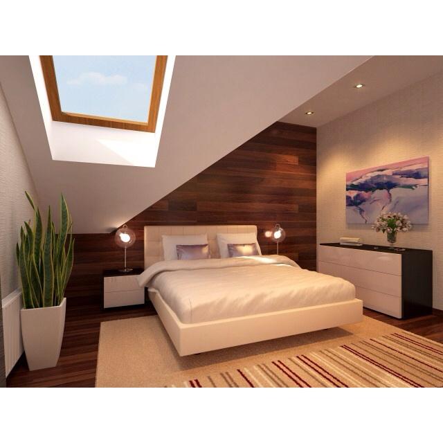 Attic bedroom attic