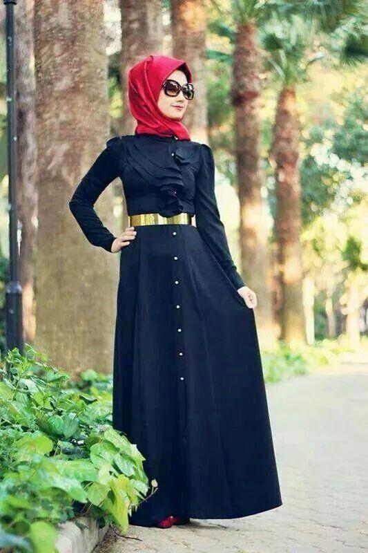 Muslimah Fashion Hijab Style Hijab Pinterest