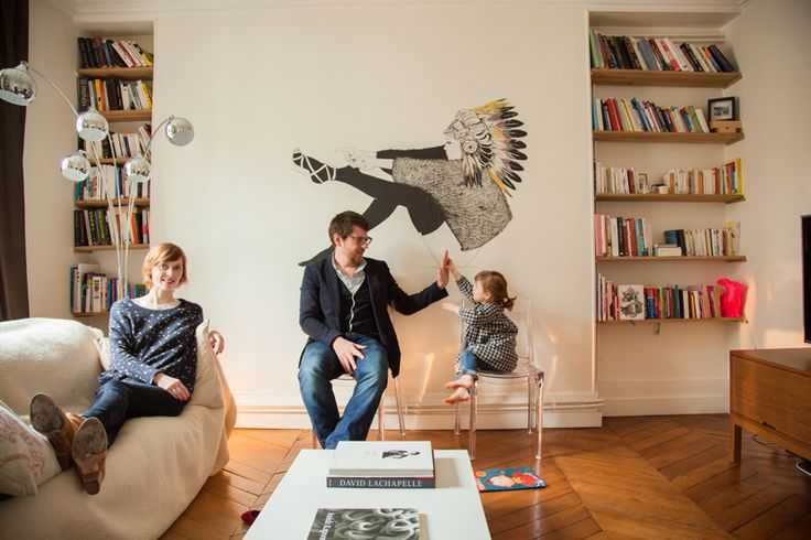 the founder of www.breakingthewool.com at home with her family!