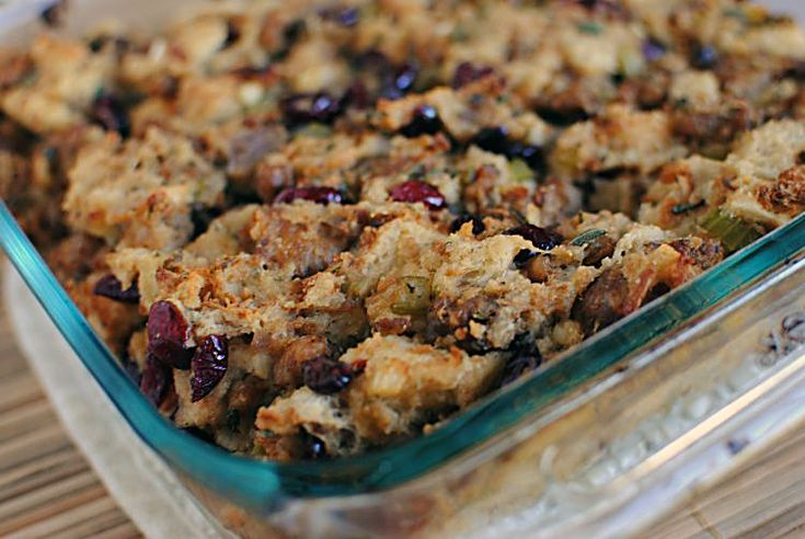 Sausage Cornbread Stuffing | Pass the Sushi Cooking | Pinterest