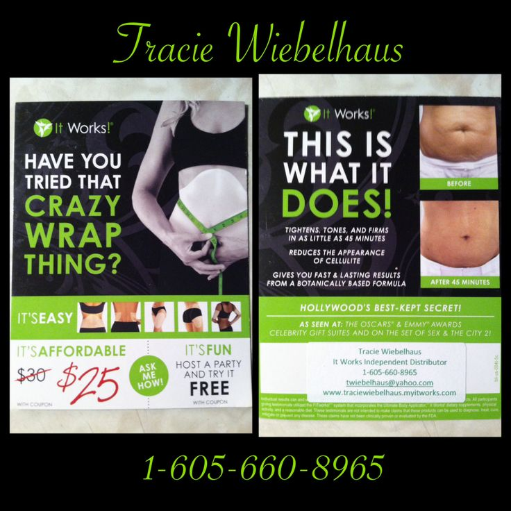 Have you tried that quot crazy quot wrap thing http www traciewiebelhaus