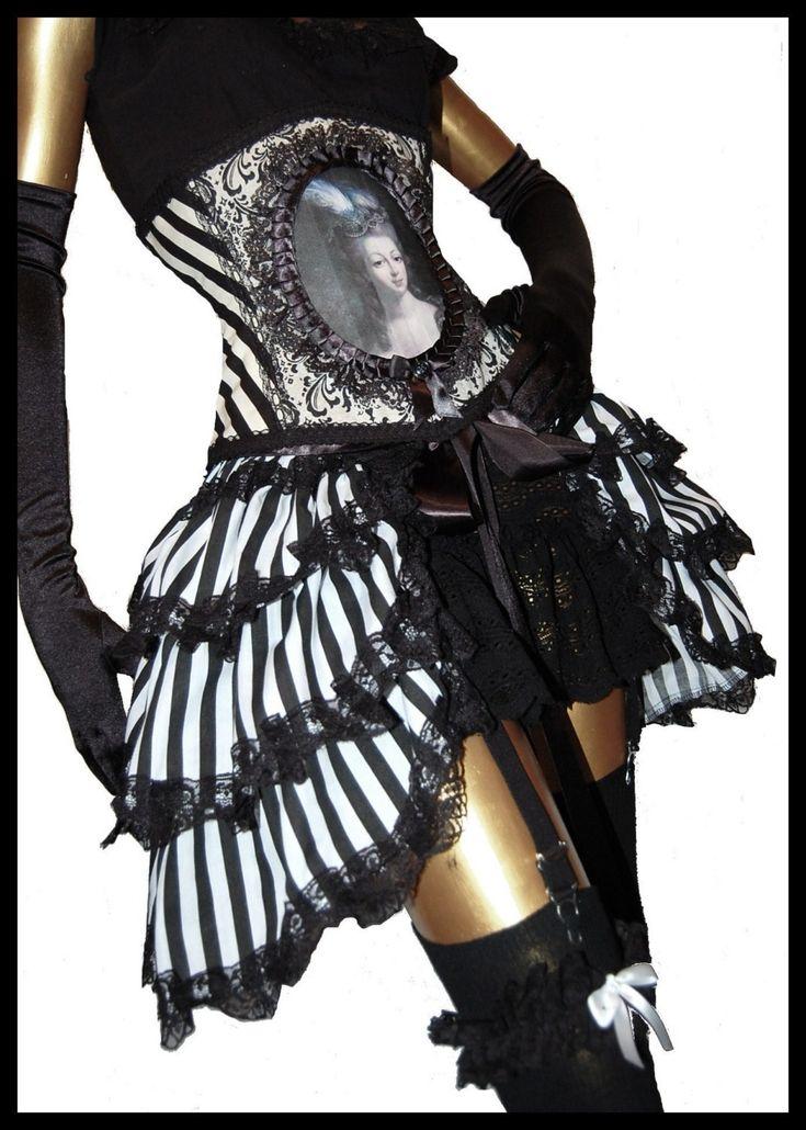 steampunk bustle skirt victorian gothic burlesque