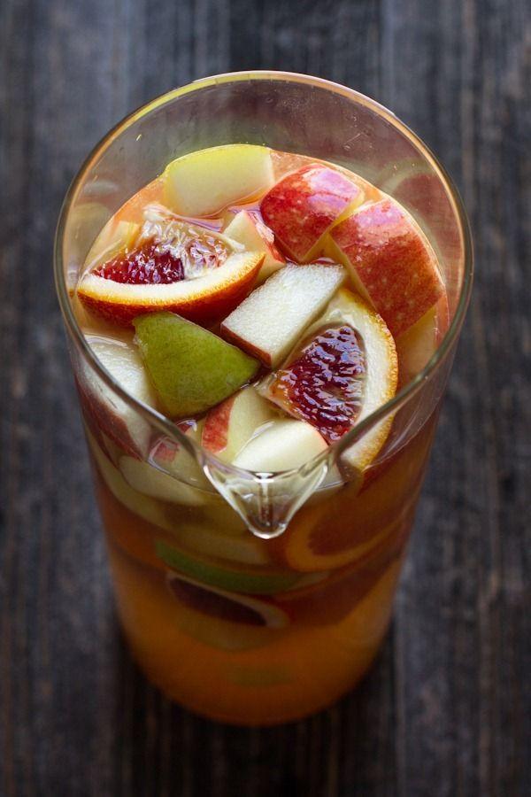 Citrus sangria recipe | edible perspective [I think I will substitute ...
