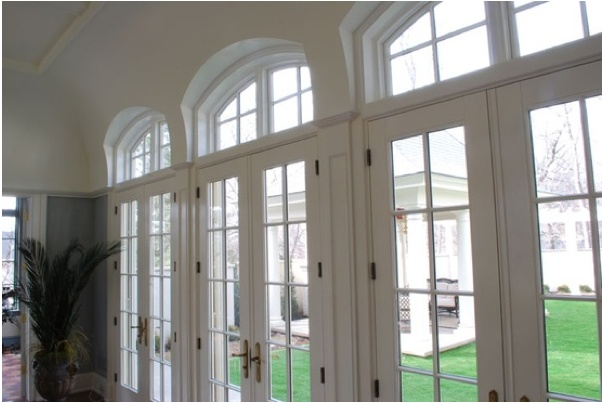 Arched french doors humphrey court home pinterest for Arched french doors