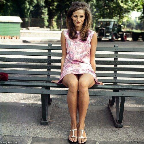 Charlotte Rampling, 1967.