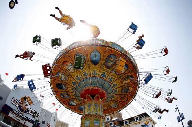 Gulf Glider at the Galveston Island Historic Pleasure Pier | 45 mins ...