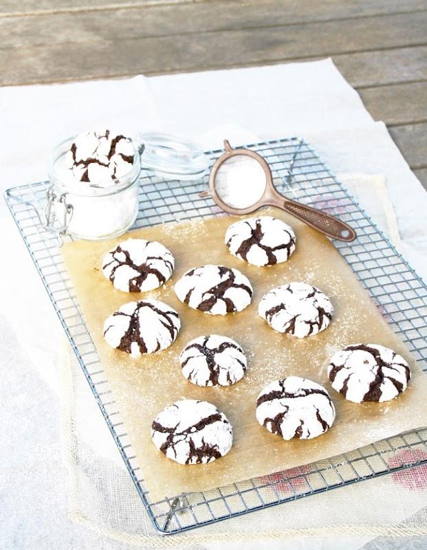 Chocolate - Espresso Snowcaps | Cookies | Pinterest