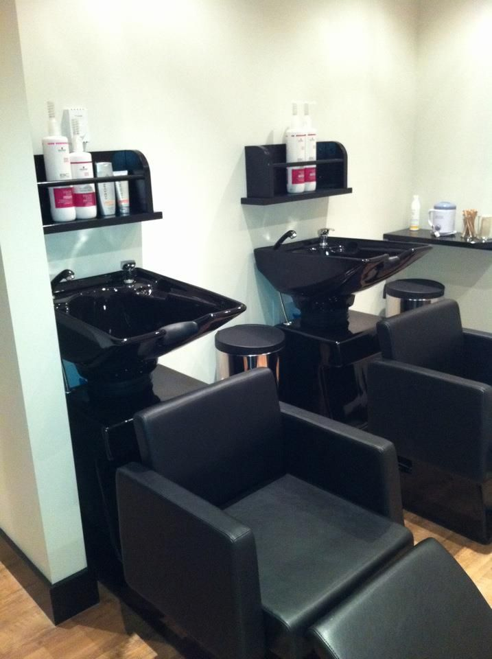 shampoo stations ForA La Mode Salon Parry Sound