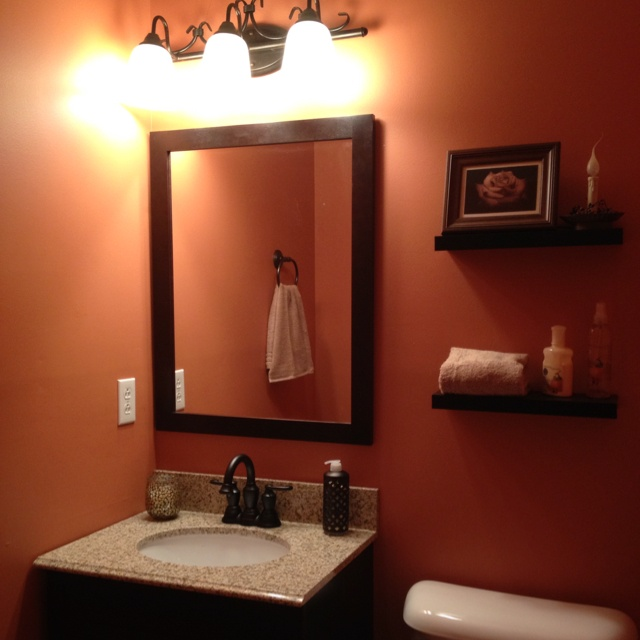 orange with brown accents organization ideas pinterest