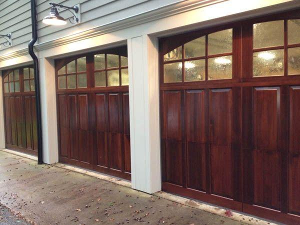Wood Carriage Style Garage Door Garage Doors Carriage