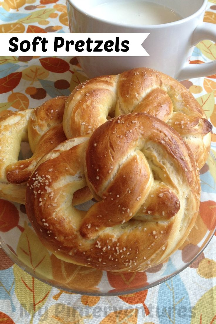 Soft Pretzels -- It's next to impossible to find a pretzel recipe that ...