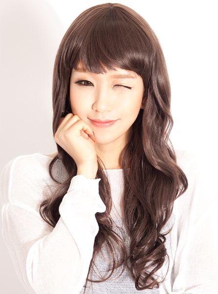 cute medium short hairstyles : cute korean hairstyle dress Pinterest