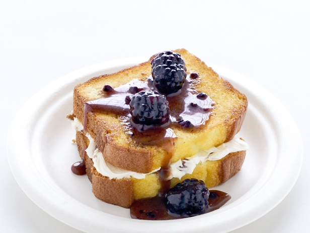Grilled Pound Cake With Marscarpone | Recipes - Desserts | Pinterest