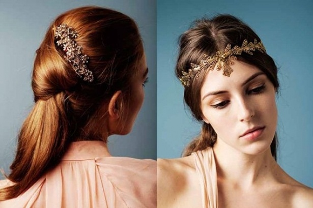 Jennifer Behr Spring 2013 Hair Accessories