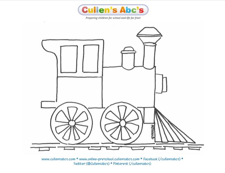 train coloring sheet the polar express cullen 39 s abc 39 s the