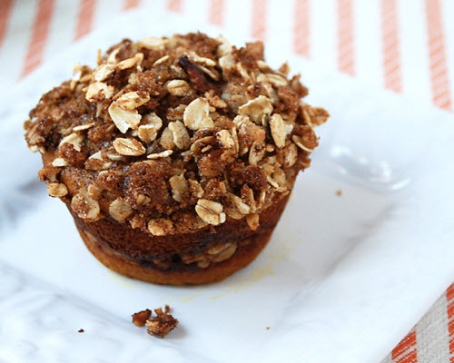 pumpkin cinnamon streusel muffins...perfect for fall/thanksgiving!