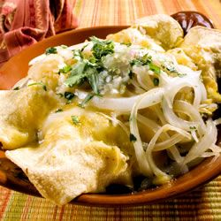 Authentic Enchiladas Verdes Allrecipes.com Tom described the verde ...
