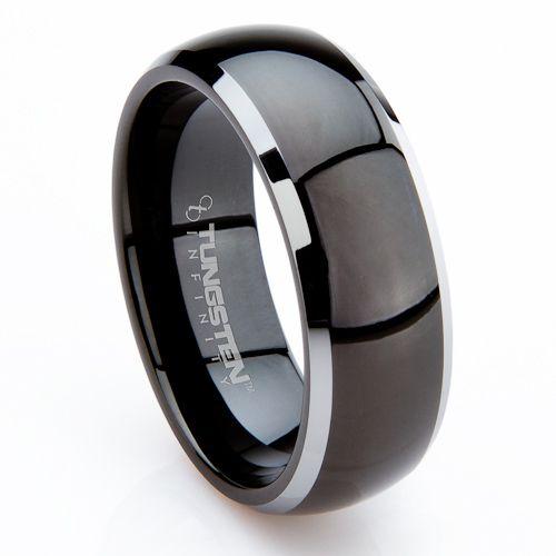 Tungsten Rings For Men By Linda Hudson Radial Pinterest