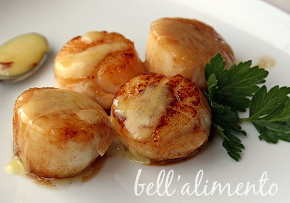 Sea Scallops in Saffron Sauce.. | anymore | Pinterest