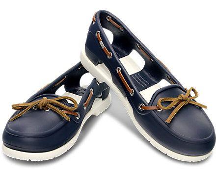 Women s Beach Line Boat Shoe | Women s Loafers | Crocs. Omg