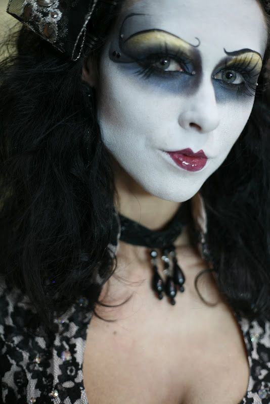 goth make up gothic   Gothic and Steampunk make up   Pinterest