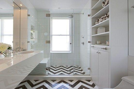 Chevron Floor Tiles Home Sweet Home Pinterest