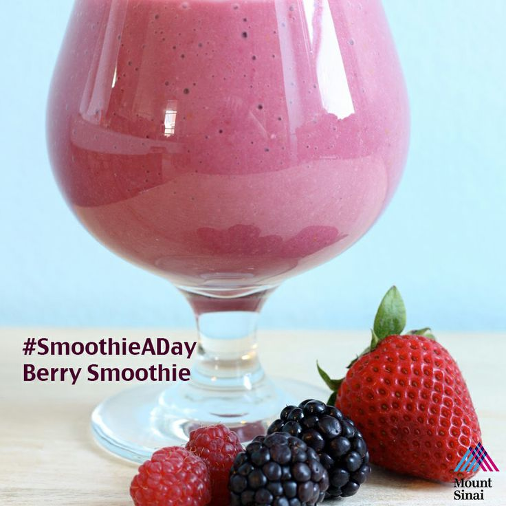 SmoothieADay - Berry Smoothie: - 1 cup frozen mixed #berries; - 1/2 ...