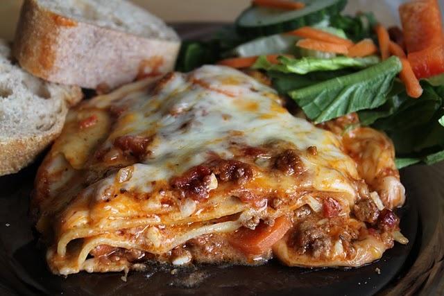 Three Cheese Lasagna | Recipe - main dish | Pinterest