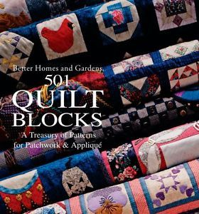 """""""501 Quilt Blocks: A Treasury of Patterns for Patchwork"""