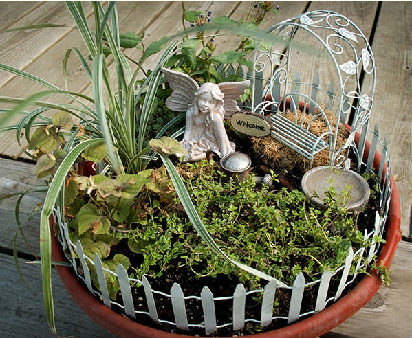 Fairy Garden Kit | Garden Art | Pinterest