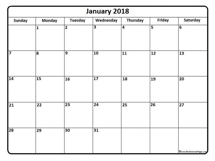 Best 25+ January 2017 calendar template ideas on Pinterest ...